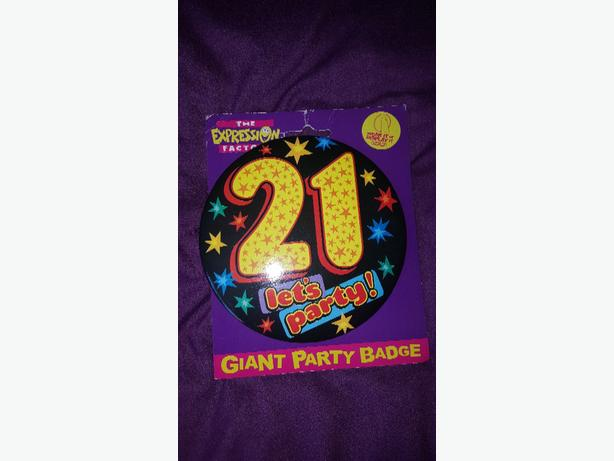 party badge