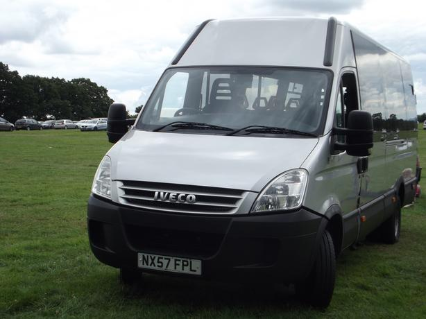 iveco daily hpi disabled 16 setter minibus