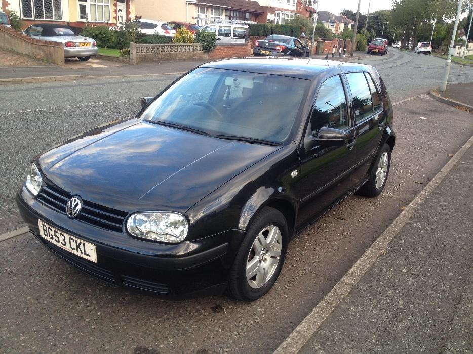 vw golf 1 6 match 53reg 2003 only 60k wolverhampton dudley. Black Bedroom Furniture Sets. Home Design Ideas