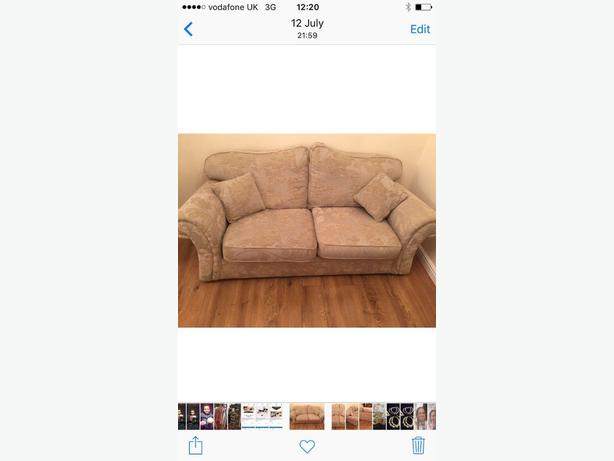 2 seater & 3 seater settee