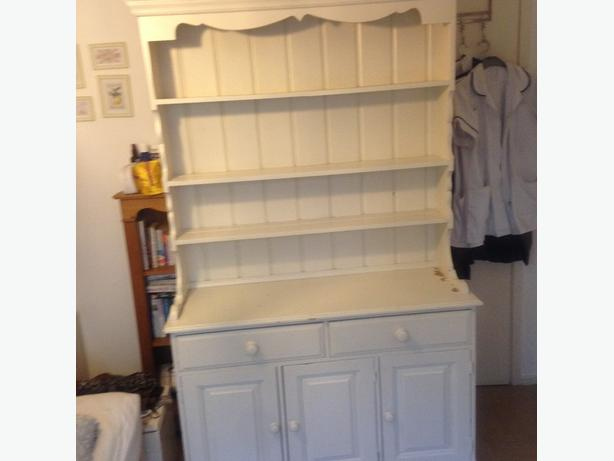 Shabby chic project; welsh dresser. Would like to sell asap