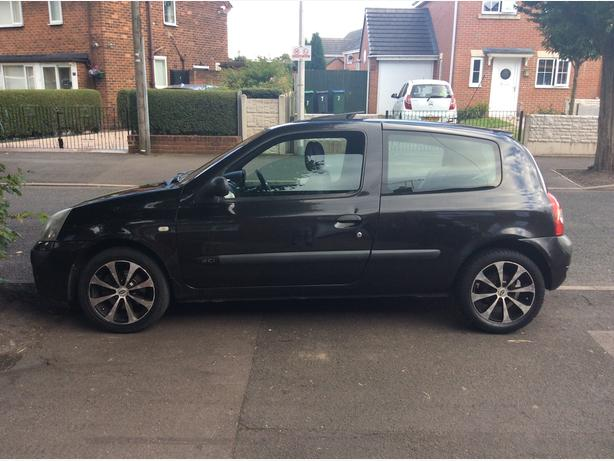 SWAP OR SALE RENAULT CLIO 1.5DCI 53 REG READ ADD!!!