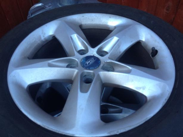 spares tyres alloys
