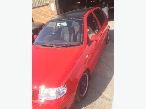 vw polo gti with long mot