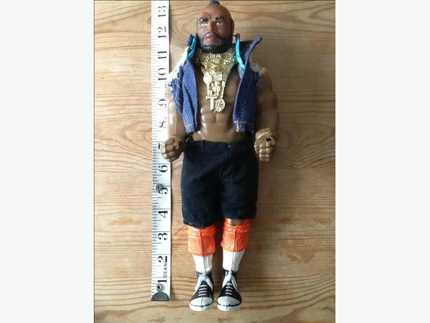 1983 A team: Mr T collectible doll