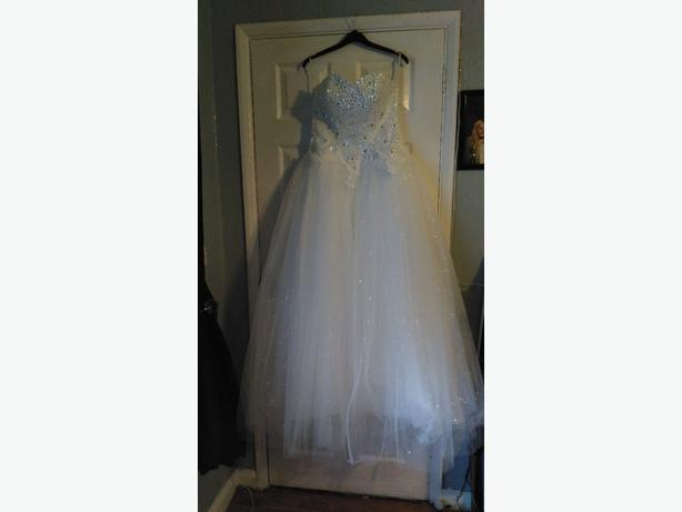 new wedding dress size 12
