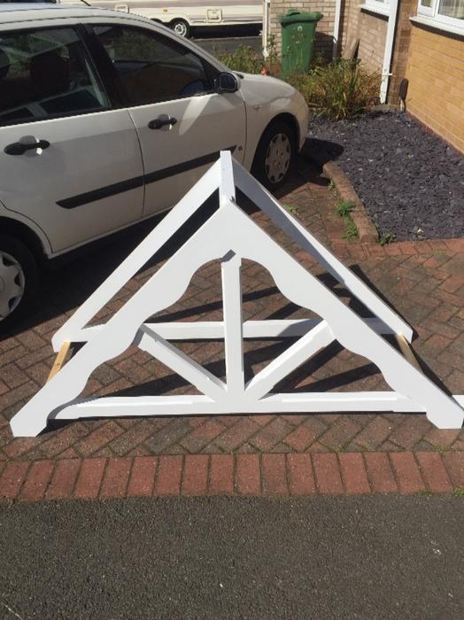 Apex Door Canopy White Painted Quality Stourbridge Dudley