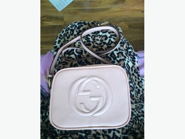 Pale Pink Gucci Side Bag