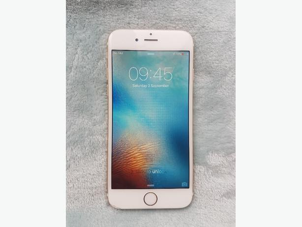 i phone 6 white/gold 16gb o2