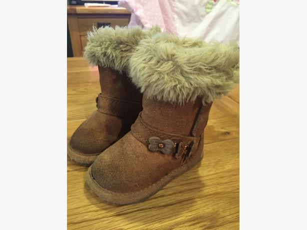 Girls Next Winter boots.