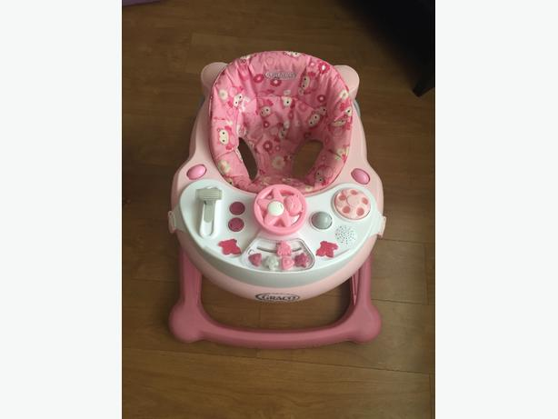 Girls Gracco Baby Walker