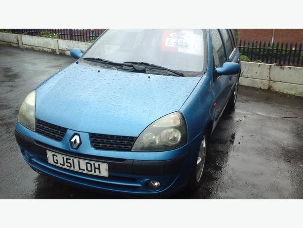 Renault clio 51 reg 5 door