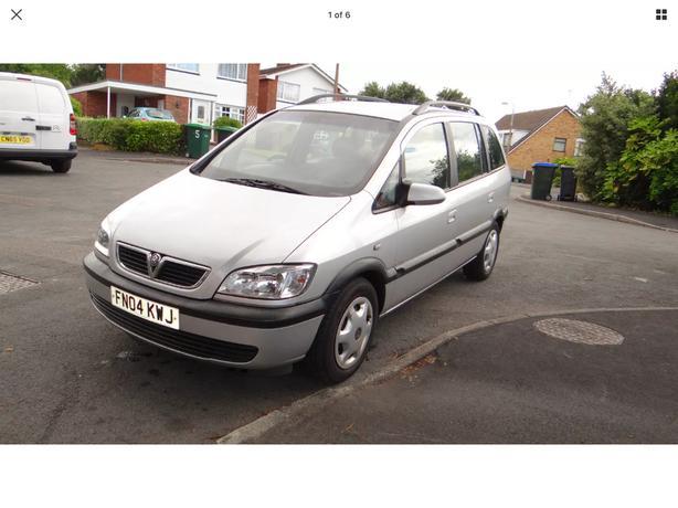 Vauxhall Opal Zafira 2.0 7 seater Auto