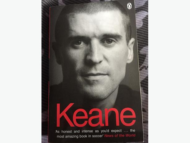 Roy Keane Autobiographies - 1st and 2nd