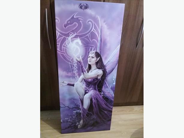 Gothic fairy canvas