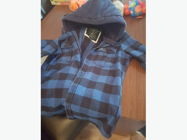 mens superdry heavy shirt/jacket