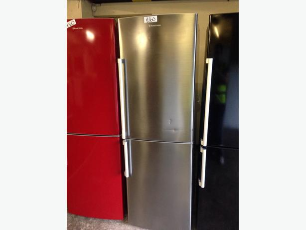 STAINLESS STEEL RUSSELL HOBBS FRIDGE FREEZER02