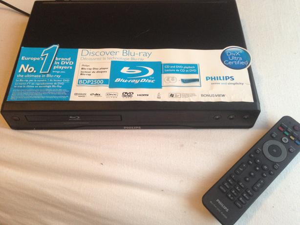 Philips blue-Ray player