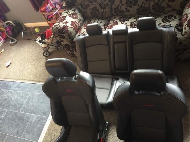 mazda 3 MPS car seats