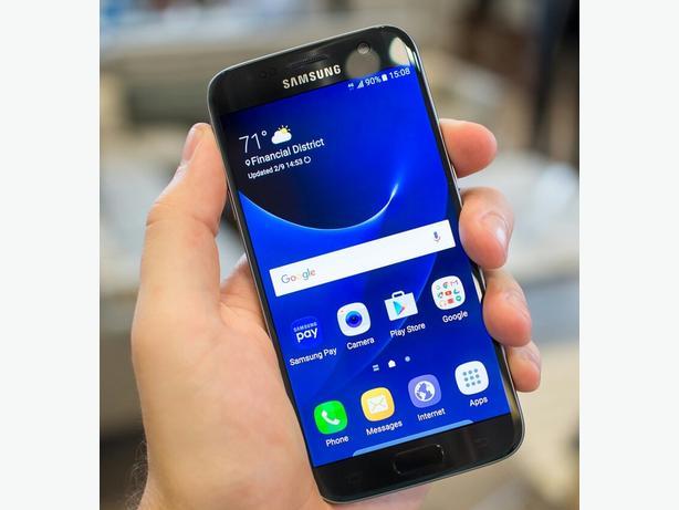 Samsung S7 Edge - Black Onyx, Mint Condition, All Networks. Kodi.