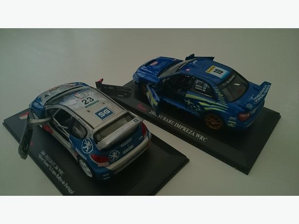Rally car's