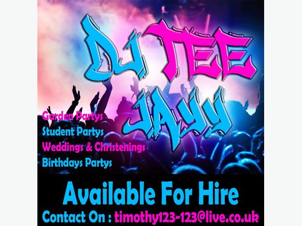 DJ - FOR HIRE -
