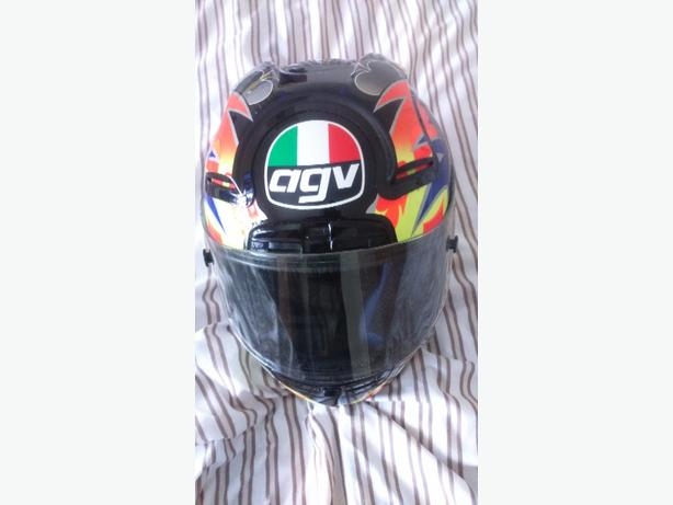 agv helmet large