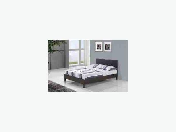 Leather beds pluss mattress deal