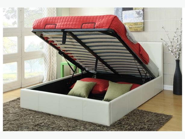 Gas lift storage beds