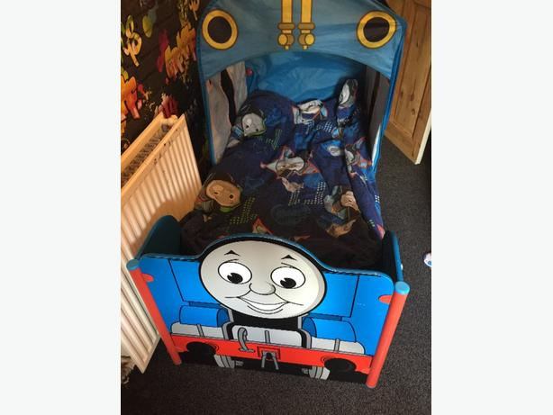 thomas the tank toddler bed