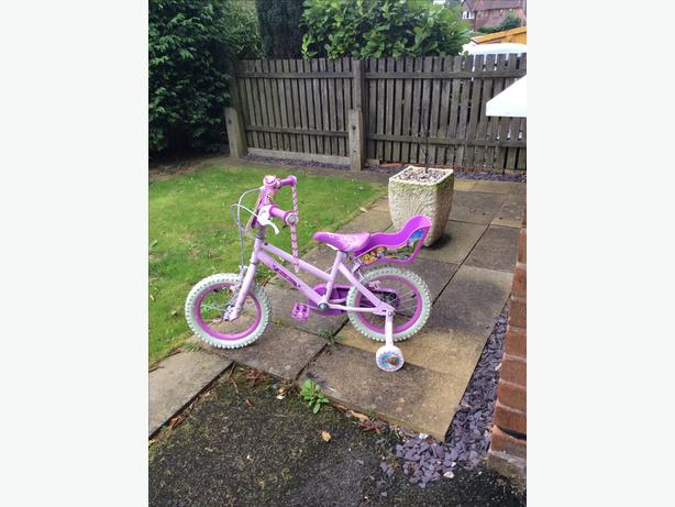 Kids Disney princess bike