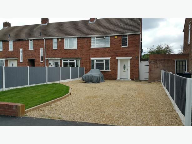 2 Bed End Terrace Kingswinford - Large Drive and Excellent Garden