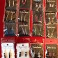 WHOLESALE JOB LOT CRYSTAL EARRINGS ON STAND