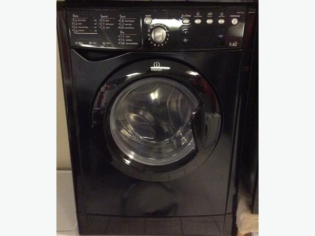 Indesit 7kg IWDE7145K Washer/Dryer in Black with Warranty