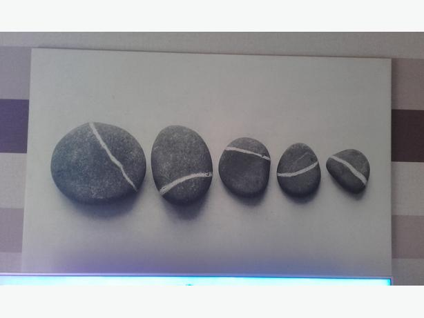 stones canvas picture