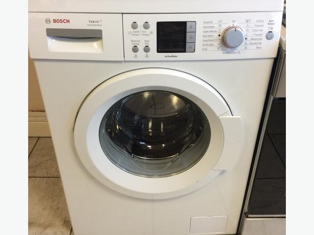 Bosch Exxcel 7 VarioPerfect WAQ28460GB Washing Machine with Warranty