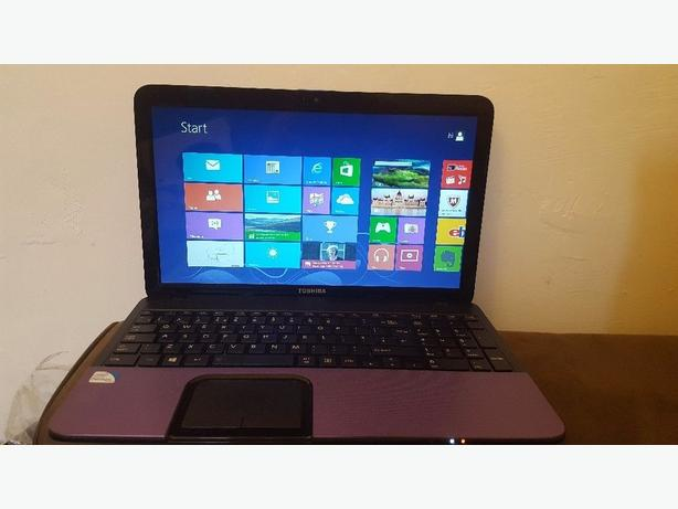 Toshiba Satellite C855-1TD 6GB 500 HDD Purple