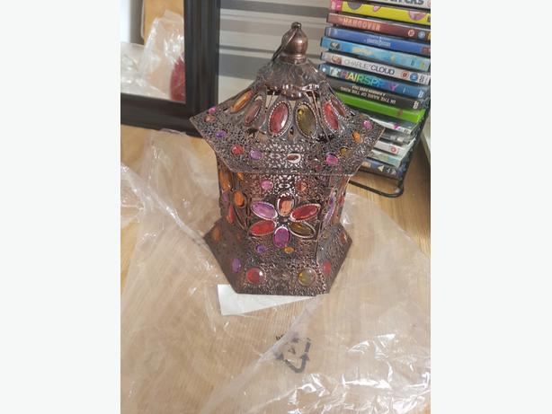 colourful hanging lantern