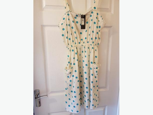 ladies river Island sundress size 14