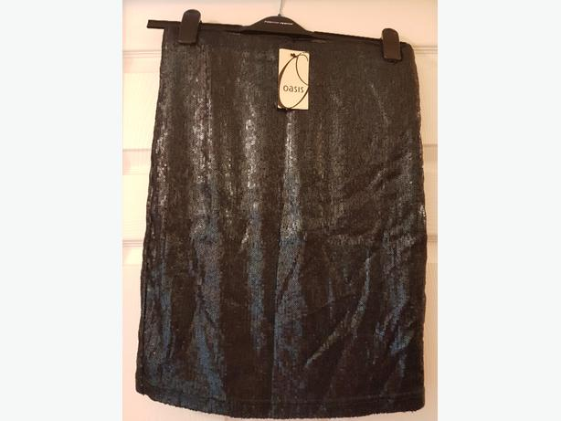 ladies sparklely Oasis skirt size 12