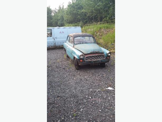 Skoda Super 1960 restoration project very rare