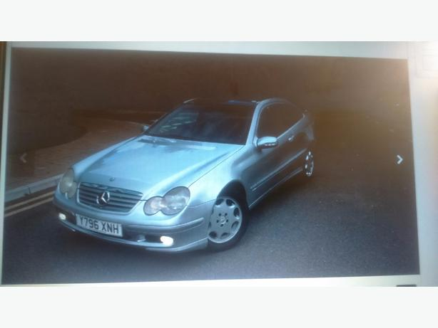 Mercedes Kompressor c200 coupe £650