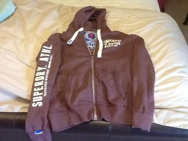 Super dry hoodie XL