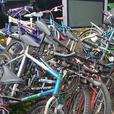job lot of pushbikes