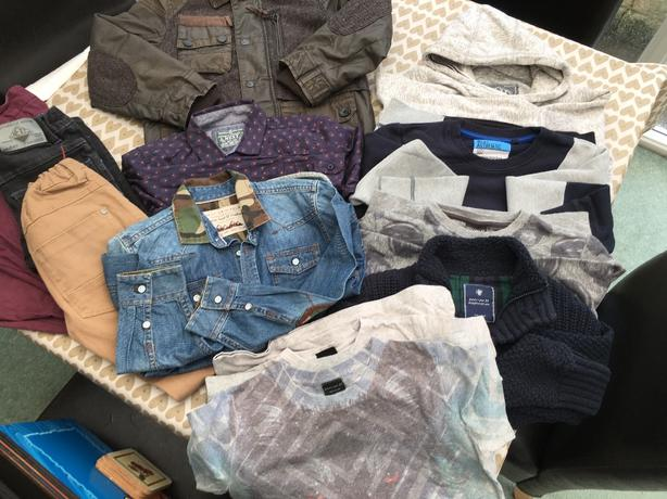 NEXT - Bundle of boys clothes - 8-9 yrs.