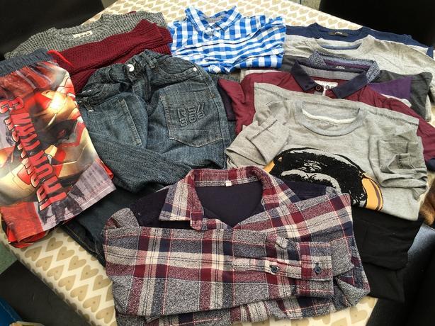 Bundle if boys clothes - aged 8-9 yrs.
