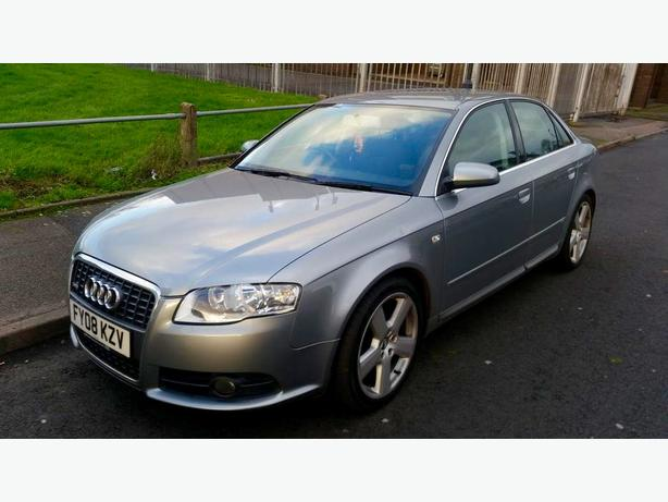 2008 AUDI A4 2.0 TDI S LINE  DIESEL 12 MONTHS MOT DRIVES GOOD