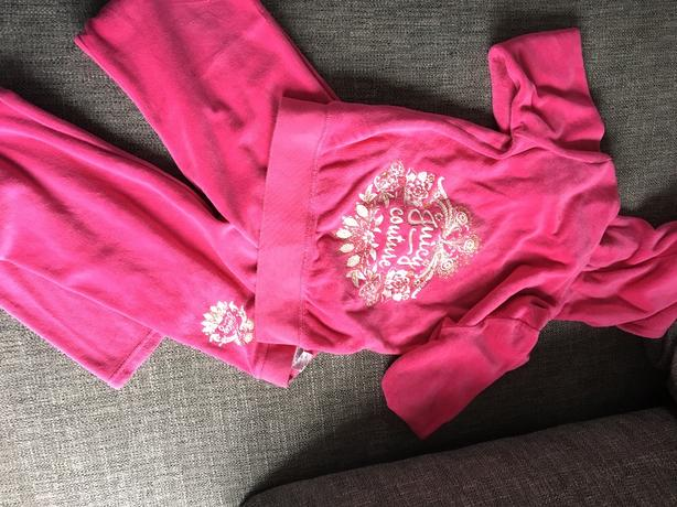 Girls Juicy Couture tracksuit age 8