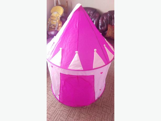 pop up princess tent