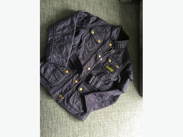 Girls Barbour Quilted Jacket age 6/7 size S